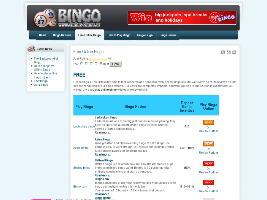 Online bingo istorm bingo online website for Online sites in usa