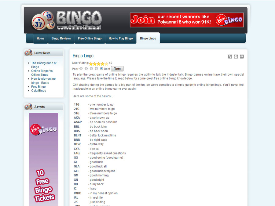 Top 50 online bingo sites bonus offers for for Online sites in usa